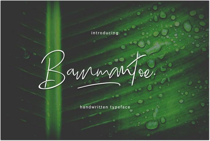 Bammantoe