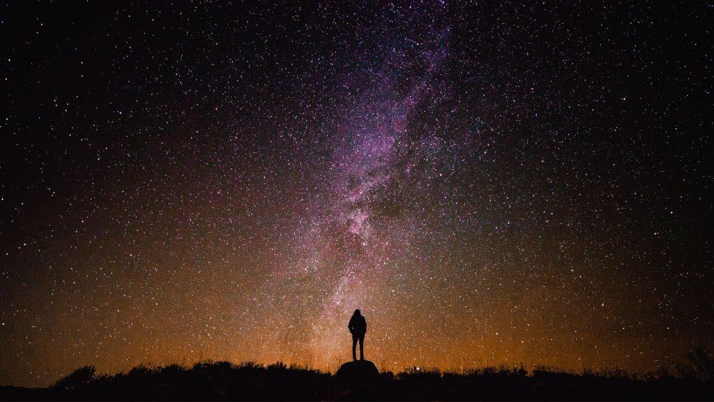 Beautiful Galaxy Desktop Background 1920 × 1080