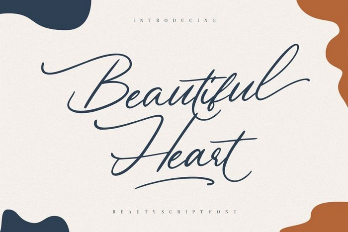 Beautiful Heart Font