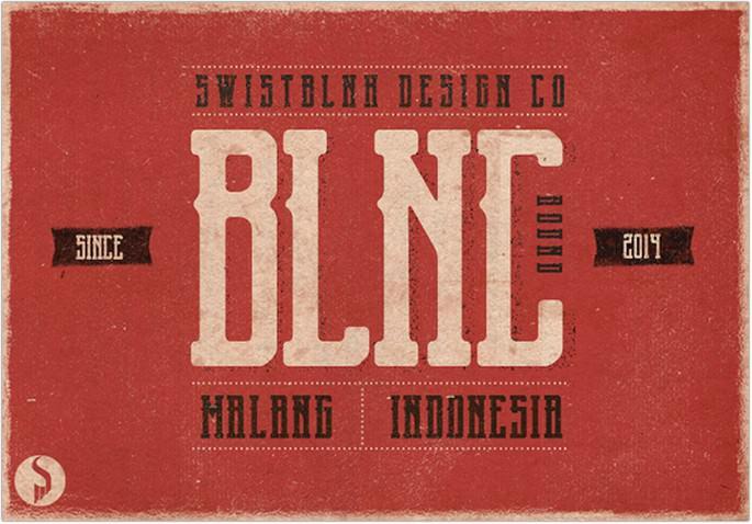 Blnc Round Font