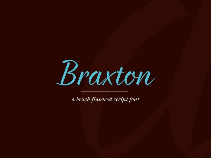 Braxton Free Font