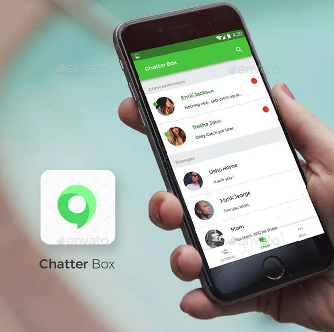 Chatting App For iOS