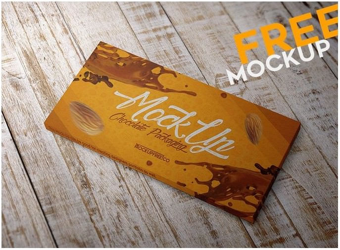 Chocolate Packaging – Free PSD Mockup