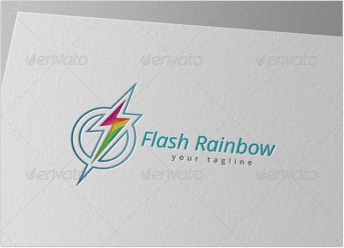 Electric Rainbow Logo