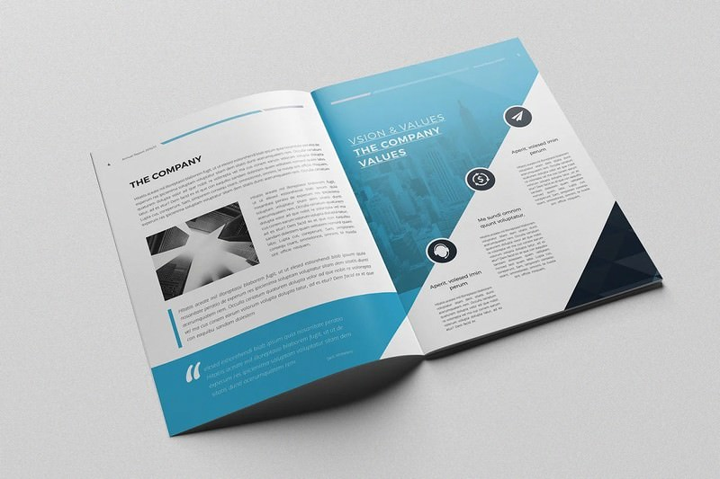 Clean & Professional Annual Report