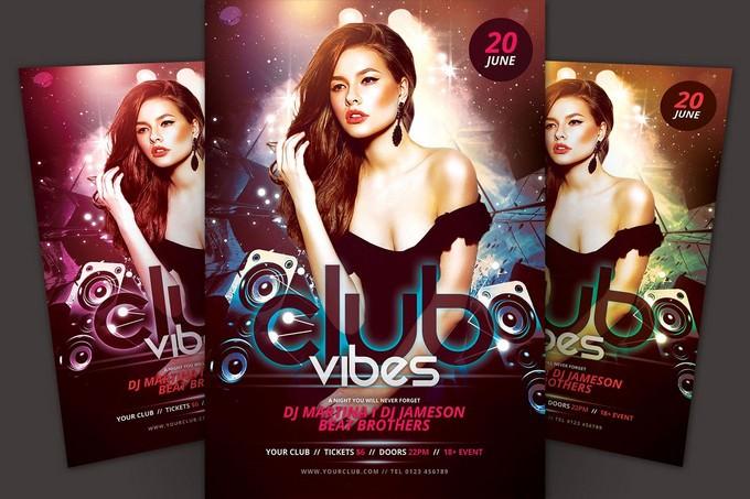 Club Vibes Flyer