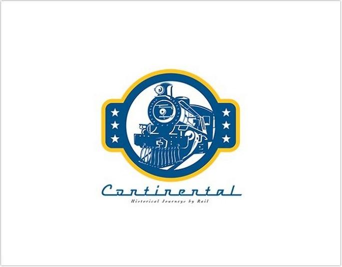 Continental Journey Rail Logo