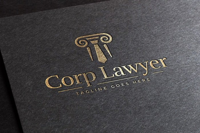 Corp Lawyer Logo Template