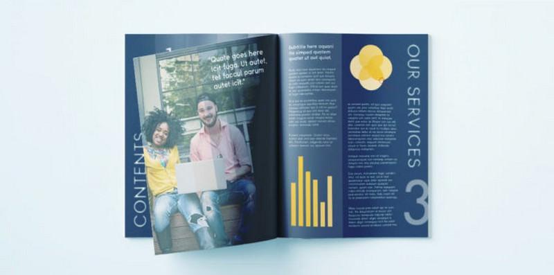 Modern Corporate Brochure Template