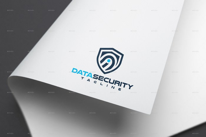 Data Security Logo Template