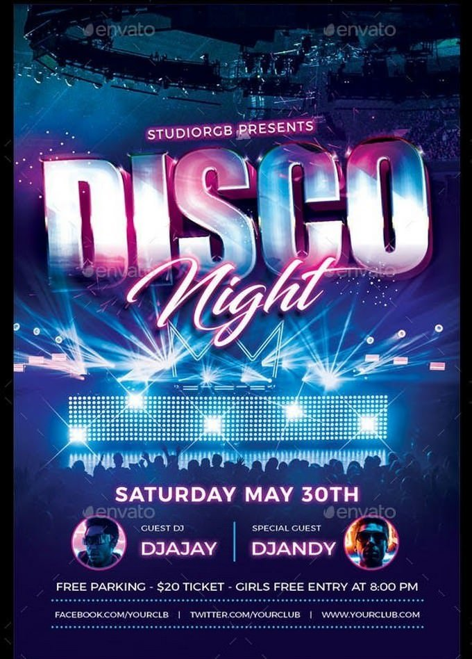 Disco Night Flyer