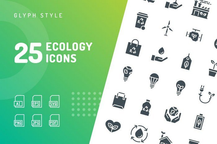 Ecology Glyph Icons