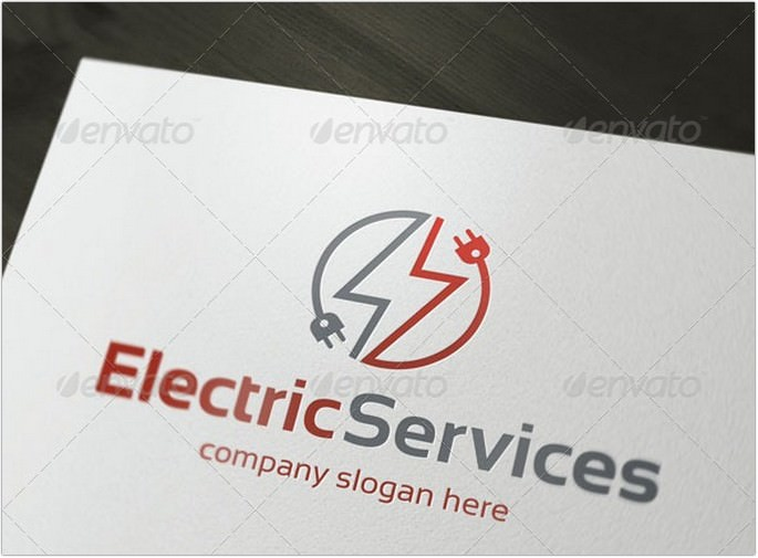 Logo For Electric Services