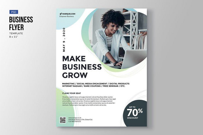 Elegant Business Flyer