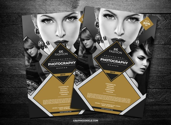 Elegant Fashion Photography Flyer