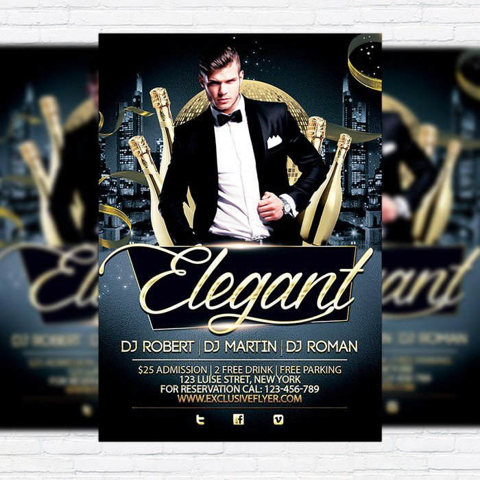 Elegant Party Flyer