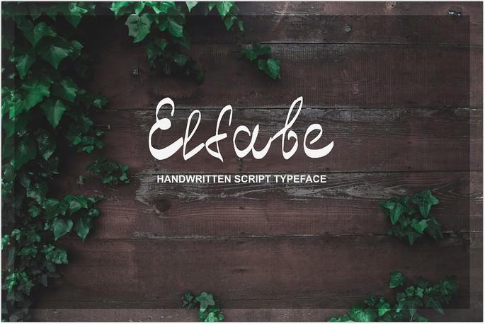 Elfabe Handwritten