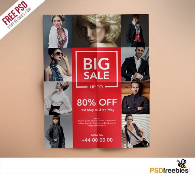 Fashion Retail Sales Flyer