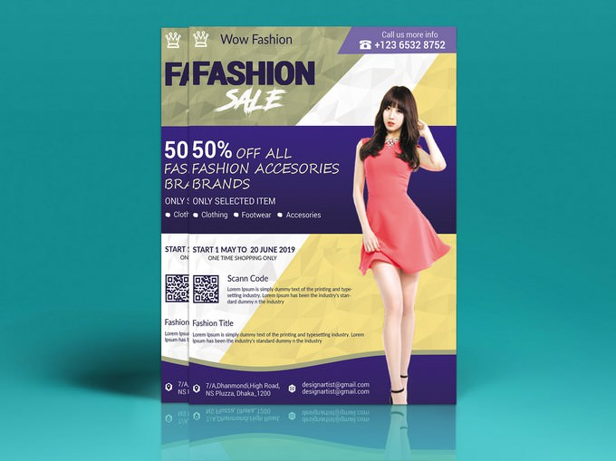 Fashion Summer Sale Flyer