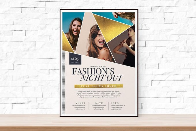 Fashion Week Flyer Template