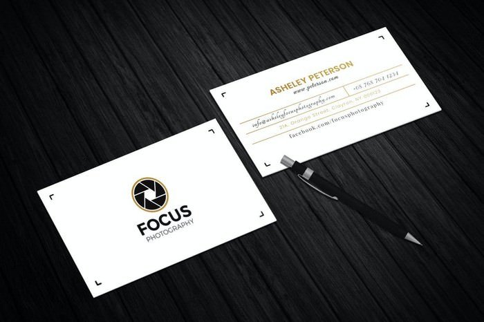 Focus Photography Business Card