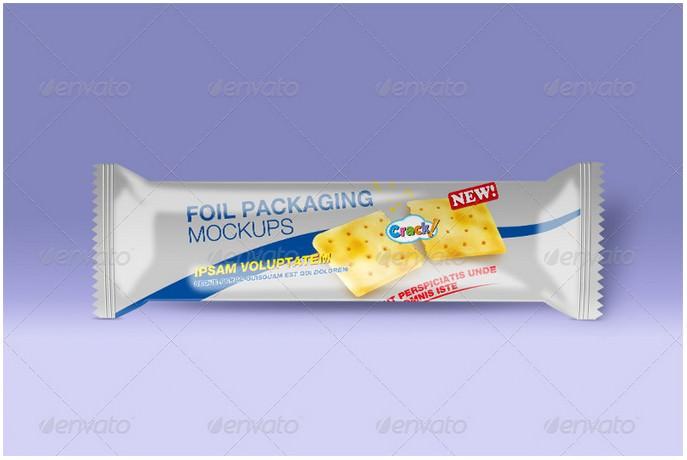 Foil Packaging Mockups Vol.1