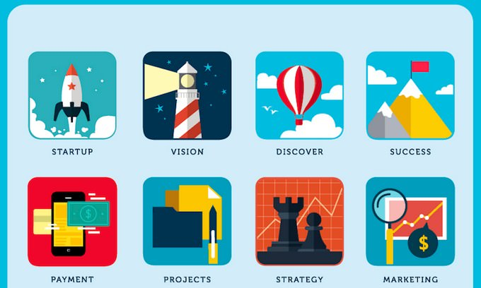 Free Business Icons For The Startup World