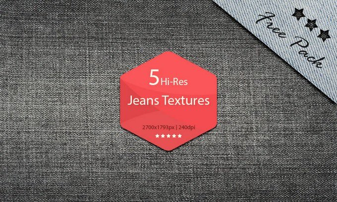 Free Download Hi-Res Jeans Textures