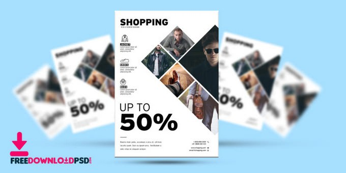 Fashion Promotional Flyer PSD