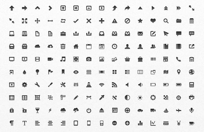 Free Mini Vector App Icons