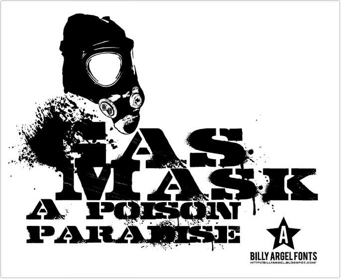 Gasmask Font