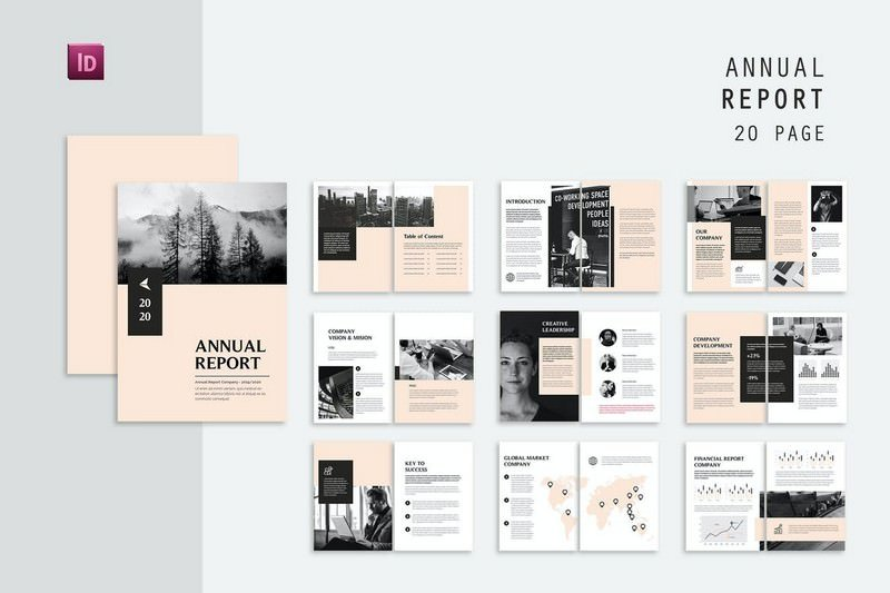 Global Annual Report Template