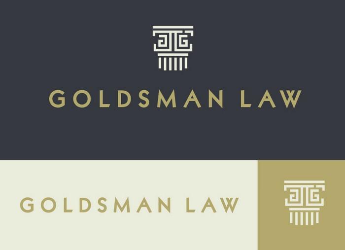 Goldsman Law Logo Concept