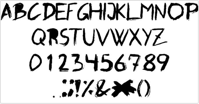 Graffito Font