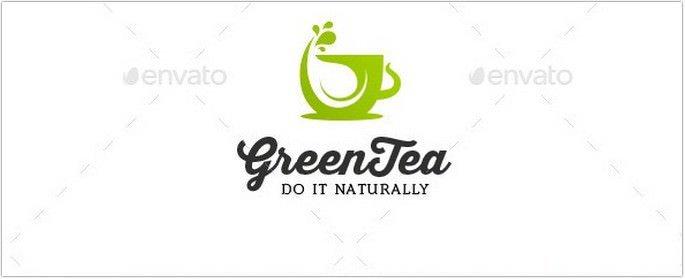 Green Tea Logo