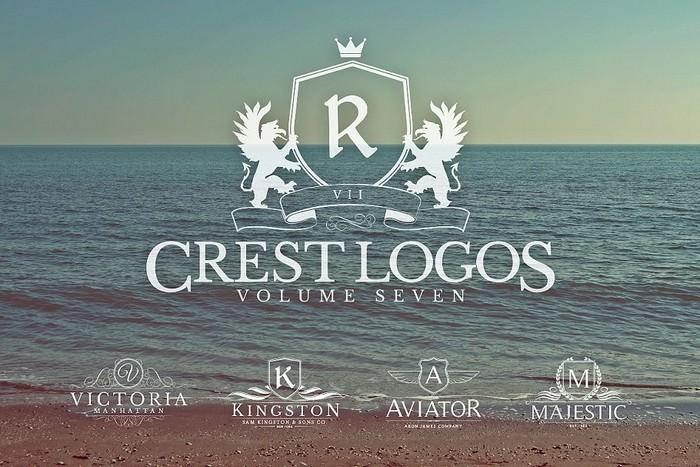 Heraldic Crest Logos Vol.7