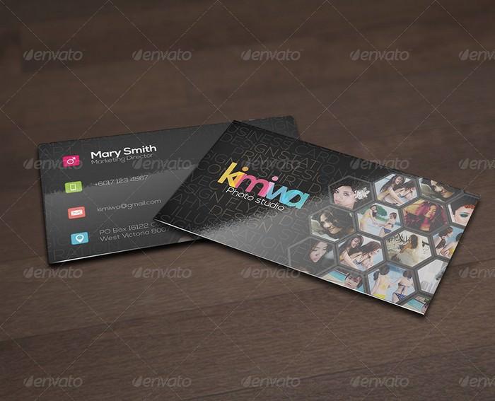 Hexagon Business Card