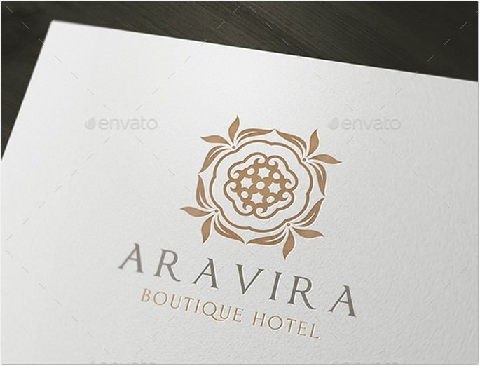 Aravira Hotel Logo design