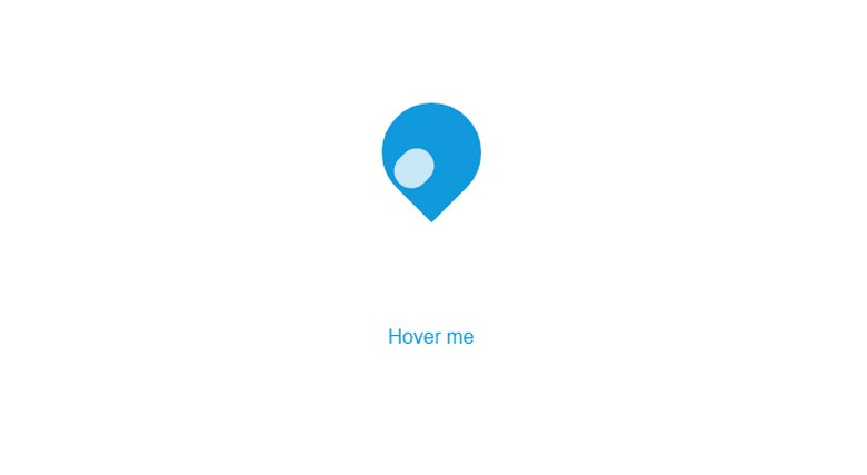 Hover Search Map icon