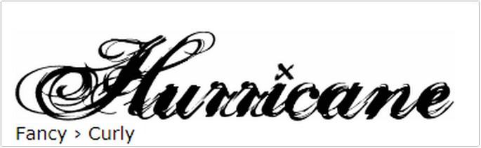 Cursive Hurricane SupaDupa Font