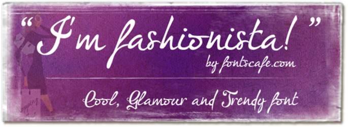 I'm Fashionista Font