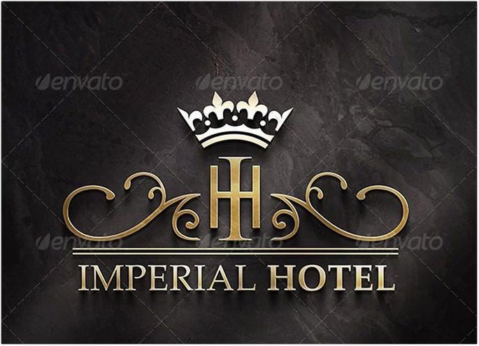 Imperial Hotel Logo design