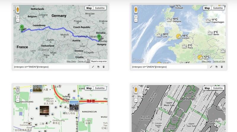 Intergeo Maps – Google Maps Plugin