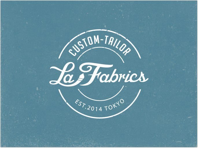 La Fabrics Retro Logo