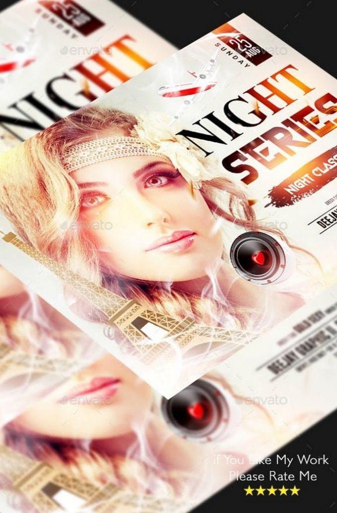 Ladies Night Series Club Flyer