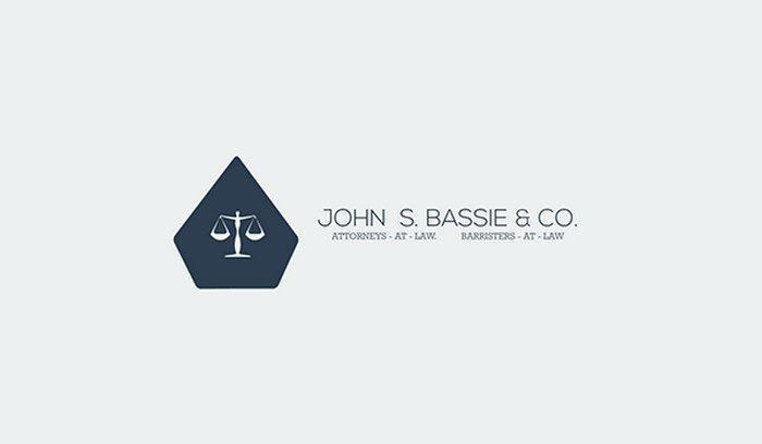 Law Firm Flat Logo Concepts