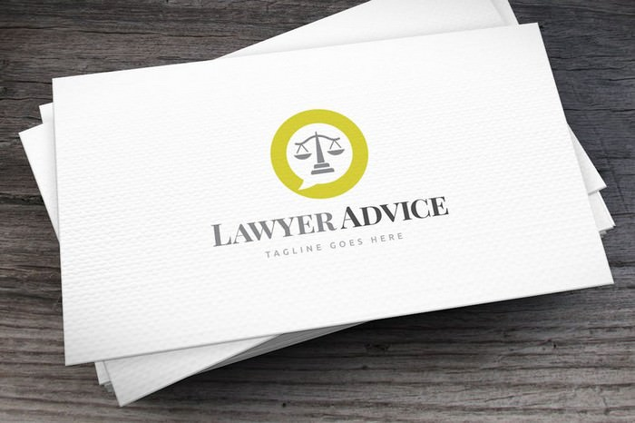 Lawyer Advice Logo Template