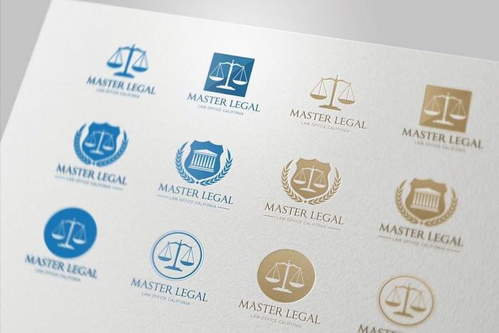 Lawyer Logo Set