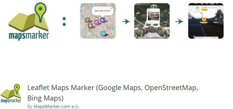 Leaflet Maps Marker (Google Maps, OpenStreetMap, Bing Maps) (Free)