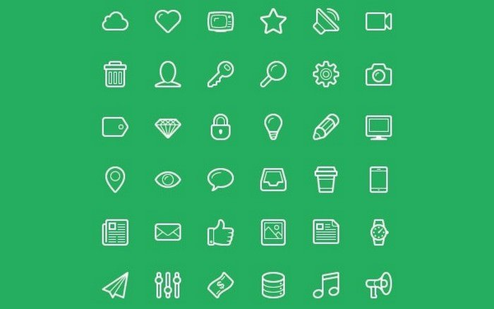 Linecons – Free Vector Icons Pack